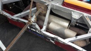 reparatiewerkzaamheden aan de bumper